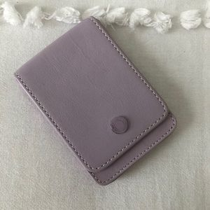 Coach Leather Business Card/ Credit Card Holder